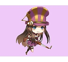 Caitlyn League of Legends (chibi) Photographic Print