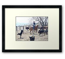 Get this Rope Off of Me! Framed Print