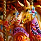 Carousel Horses by buttonpresser