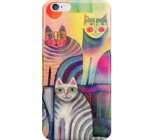 Cats galore iPhone Case/Skin