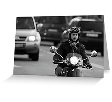 Vespa Greeting Card