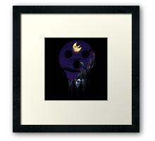 SOUL EATER Lord Death - Night Scene Framed Print