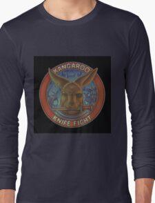 Kangaroo Knife Fight Long Sleeve T-Shirt