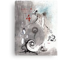 the nest: an etherial gateway Canvas Print