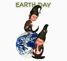 Earth Day T With Elfs Unisex T-Shirt