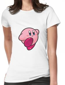 Kirby Womens Fitted T-Shirt