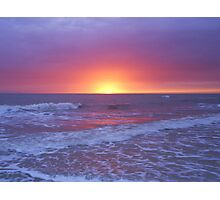 Sunset after the Rain Photographic Print