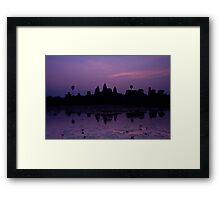 The Magnificent Angkor Wat Framed Print