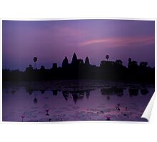 The Magnificent Angkor Wat Poster