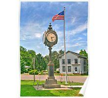 Memorial Clock Poster