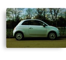 Fiat 500 Parked Canvas Print