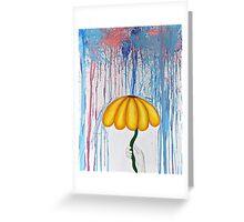 Rainy Days and Mondays Greeting Card