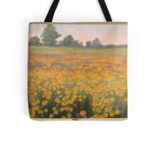Wildflower mural. Tote Bag