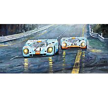 Porsche 917 K GULF Spa Francorchamps 1970 Photographic Print