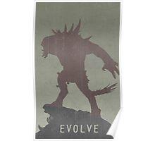 Evolve Game Poster Poster