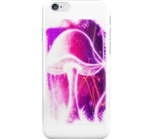 Neon Shroom (pink/purple) iPhone Case/Skin