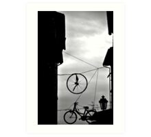 Dreams cycling Art Print