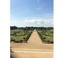 garden at hampton court Photographic Print