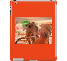 """""""Redneck and a Longneck""""... prints and products iPad Case/Skin"""
