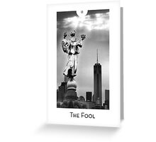 City Mystic • New York The Fool Card Greeting Card