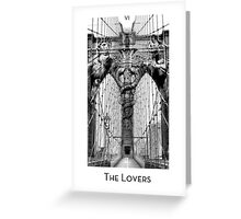 City Mystic • New York The Lovers Greeting Card