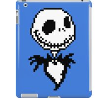Jack Skellington - pixel art iPad Case/Skin