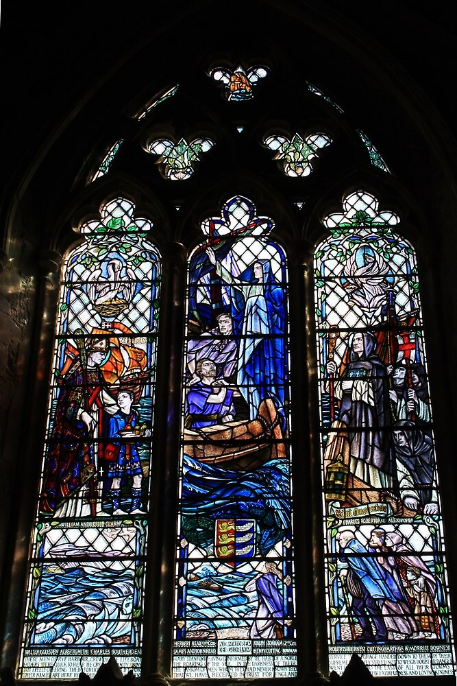 Mary Strachan Memorial Window by Dave Godden