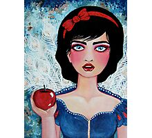 The Red Apple Photographic Print