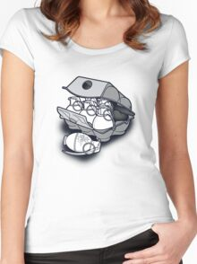 Bad Eggs Women's Fitted Scoop T-Shirt
