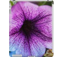 Petunia Love  macro iPad Case/Skin