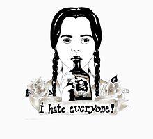 Wednesday Addams - I Hate Everyone  Unisex T-Shirt
