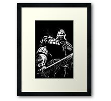 He is the law  Framed Print