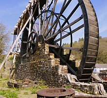 Devon: Morwellham Quay - The Waterwheel by Rob Parsons