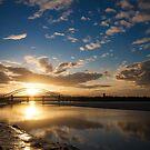 Mersey Sunrays by marc melander