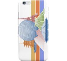 EPCOT Center Inspired Design  iPhone Case/Skin