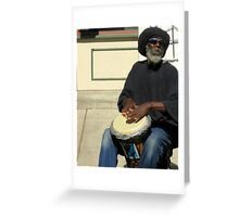 Reggae Man Greeting Card