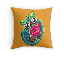 Who Loves Cupcakes Throw Pillow
