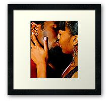 Couple In Love Framed Print