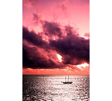 Red Sky at Night... Photographic Print