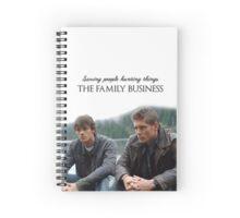 Supernatural - Dean and Sam Spiral Notebook