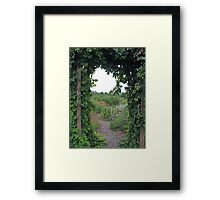 Arbor View Framed Print