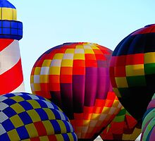 Colorful Balloons by Terry Runion