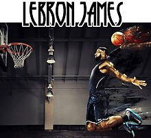 Lebron James' Dunk by VicMask