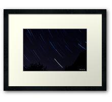 Startrails 2 Framed Print