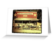 """A COUNTRYFIED GALLERY""... prints and products Greeting Card"
