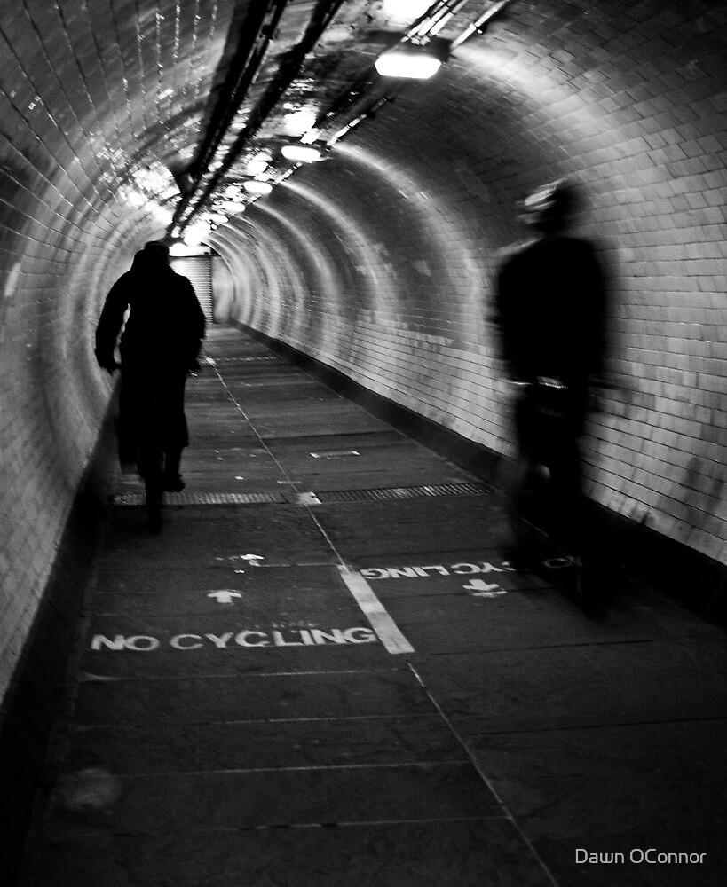Foot Tunnel by Dawn OConnor