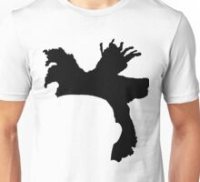 The Weeknd Hair - FRONT Unisex T-Shirt