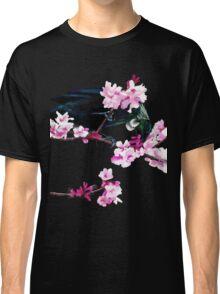 Tui Feeding on Cherry Blossoms Classic T-Shirt