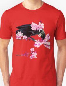 Tui Feeding on Cherry Blossoms T-Shirt
