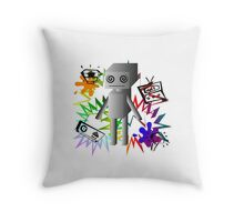 Robot Throw Pillow